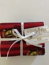 Harry Potter 100% Cotton Fabric, STAX, 5 Fat Quarters, New