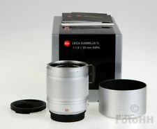LEICA *SUMMILUX-TL 1:1.4 / 35 MM ASPH* IN SILVER (LEICA NUMBER : 11085) IN BOX !