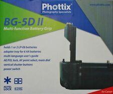 PHOTTIX® Battery Grip BG-5D II per CANON EOS 5D MK II Premium Series Impugnatura