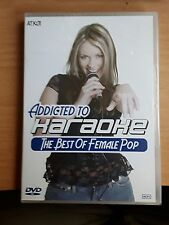 Addicted to Karaoke The best of female pop dvd