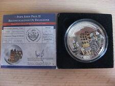 PALAU 2011 John Paul II Beatification 1 dollar UNC box CoA #611