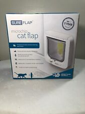 Cat Door Flap Microchip Sureflap Pet No Collar / Tag Required Colarless Taggless