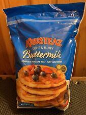 KRUSTEAZ Complete Buttermilk Pancake Waffle Mix -10Ib Bag (Just Add Water)