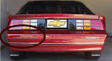 Emblem Camaro 5.7 TUNED PORT INJECTION  85-92 Rear Bar NEW Silver - # 10066841