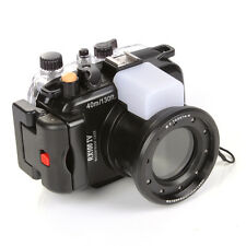 40M Waterproof Housing for Sony DSC RX100 Mark IV 4 Camera Underwater Case Cover