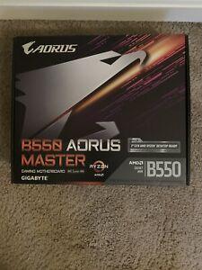 Gigabyte B550 Aorus Master New!