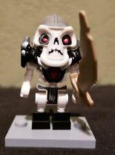 Lego Ninjago Minifigure Kruncha Skeleton Army From Sets 2174,2507,2508  W/Weapon