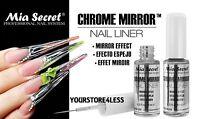 Mia Secret Chrome Mirror Nail Liner *MADE IN USA* Mirror Effect