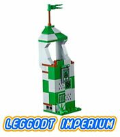 LEGO Harry Potter Quidditch - Slytherin Stand - New! FREE POST