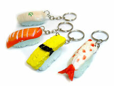 JAPANESE NOVELTY SUSHI KEYRING KEYCHAIN GIFT XMAS CHRISTMAS STOCKING FILLER