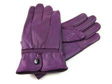Gants et moufles violets poignet pour femme