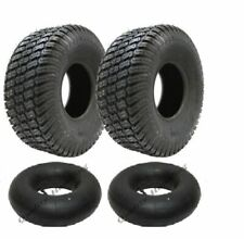 2 - 15x6.00-6 4ply tyre with tubes turf grass lawn mower 15 600 6 tire lawnmower