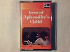 APHRODITE'S CHILD Best of mc cassette k7 ITALY RARISSIMA NUOVA VERY RAREUNPLAYED