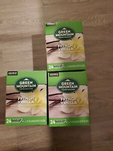 Green Mountain Coffee French Vanilla, Keurig K-Cup Pod,  72ct