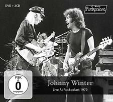 Johnny Winter - Live At Rockpalast 1979 (NEW 2CD+DVD)