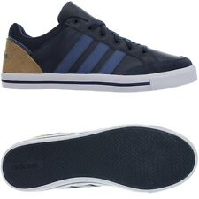 Adidas Cacity blue Men's leather low-top sneakers casual shoes trainers NEW