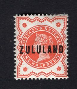 South Africa Zululand 1888 stamp SG#1 MH CV=11$