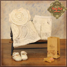 "Ruby Red Galleria Beige Lace Outfit fits 8"" Ten Ping, Strawb 4 Kindergartener"