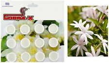 JASMINE AROMATIC SCENTED PERFUMED TABLETS CLOSET DRAWER MOTH REPELLENT 12pcs