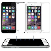 New Front Full Coverage Tempered Glass Screen Film Guard For iPhone 6 & 6 Plus