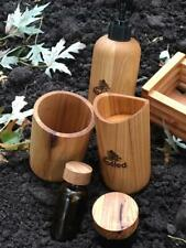 Natural Wood Bath Set Handmade Bathroom Soap Accessories