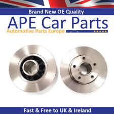 Rear Brake Discs for NISSAN PRIMASTAR 1.9 dCi 2.0 2.5 dCi 02-15 NO ABS RING
