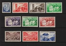 French Andorra - 1949 Definitive set, mint, cat. $ 122.15