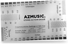 AZMUSIC Premium String Action Gauge, Compact and Versatile Luthier Tool for...