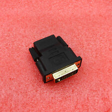 24+5pin DVI Male to HDMI Female Adapter Converter for HDTV LCD Monitor Black