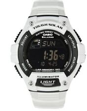 NEW Casio Men's W-S220C-7BVCF White Tough Solar Water Resistant Sports Watch