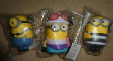 Despicable 3 film promotional Stress figure Jerry Dave Mel minions