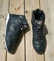 Men's Nike Air Jordan Retro 7 Metal Baseball Cleats Athletic 684943 010 sz 11