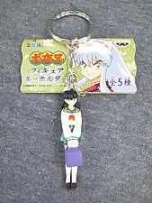 Japan Anime Banpresto Inuyasha P3 Yasha Kagome Collection Keychain Figure Mange