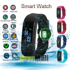 Waterproof Bluetooth Fit**bit Smart Watch with Cam Phone For iphone IOS Android