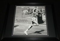 Wilma Rudolph Olympics Framed 11x14 Photo Display