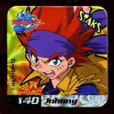 STAKS STAKS AIMANT MAGNET BEYBLADE N° 140 JOHNNY HOLO