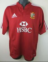 Authentic Adidas 2009 British Lions Rugby Union Shirt Jersey Tour South...
