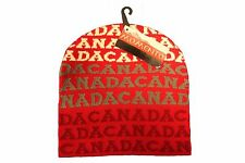 CANADA RED WITH WORD TOQUE HAT..FOR ADULTS.. MOMENTO