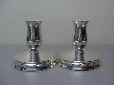"Elegant Pair Vintage TOWLE Sterling Silver 3.5"" Candlesticks"