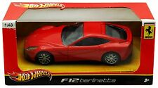 Hot Wheels 1:43 Scale Ferrari F12 berlinetta  Ferrari Licensed New In Box