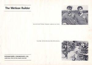 1974 Rickman Metisse Builder book MK3 + 1966 & 1974 brochures