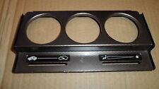 Genuine, OEM, Rover 200,25, MGZR Calentador Facia Panel, Luz Plata Carbono efffect
