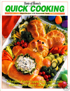 Books: #1093 Taste of Home Quick Cooking Magazine March/April 2001