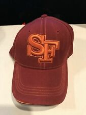 San Francisco Cap New! - Maroon with Orange Lettering