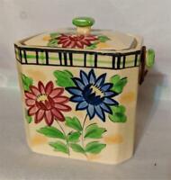 Vintage 1920s, Moriyama Biscuit Jar #2