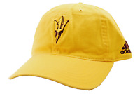 Arizona State Sun Devils adidas NCAA Clean Up Relaxed Fit Yellow Team Cap Hat