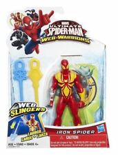 Iron Spider Marvel Ultimate Web Warriors Launch Slingers New Spiderman