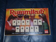 "Goiliath ""WORD RUMMIKUB"" Tile Laying Rummy Game"