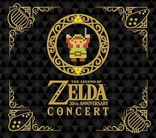30 TH Anniversary Edition CONCERT Legend of Zelda  CD JAPAN JAPANESE NINTENDO
