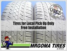 2 FUZION TOURING 235/55/19 USED TIRES 85% LIFE AUDI MERCEDES FORD 101V 2355519